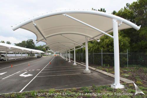 Car Parking Shed Tent : Tensile car parking shades sheds