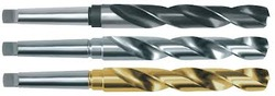High Speed Steel Taper Shank Drills, For Industrial