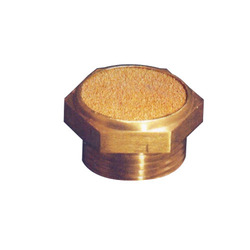 Sinter Bronze Button Silencer