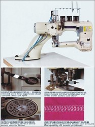 Four Needle and Six Thread Feed Off Arm Industrial Flat Lock