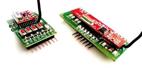 Rf Transmitter & Reciever 433mhz With Encoder And Decoder