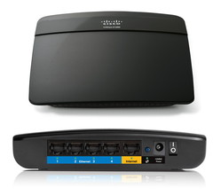 Cisco Link Sys Wi-Fi Router E-1200