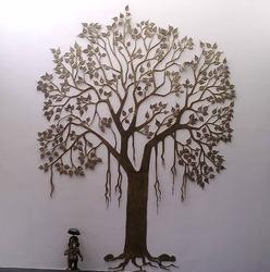 Home Decor Metal Wall Art Tree