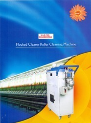 Flocked Clearer Roller Cleaning Machine