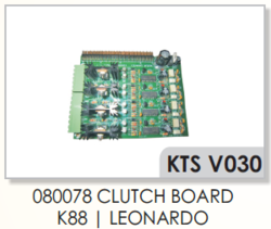 VAMATEX K88,LEONARDO 080078 Clutch Board