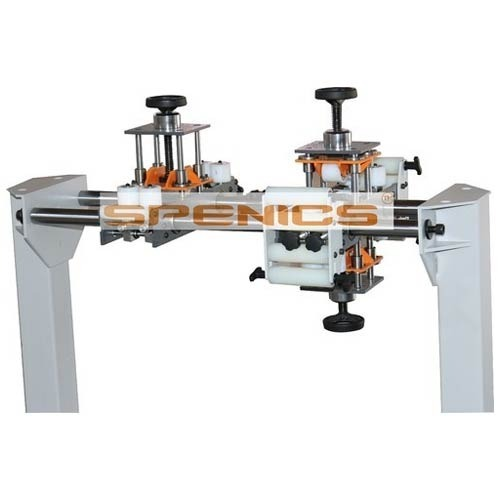 Dual Head Tensioner Horizontal Winding Machine.