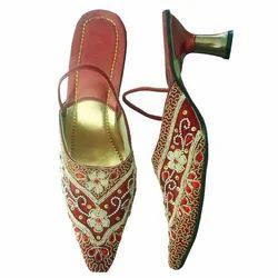 Heel Jutti, Designer Sandal, Women