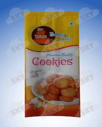 Plastic Cookies Packaging Pouch, Capacity: 200 G