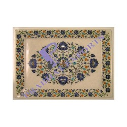 Marble Inlay Tray