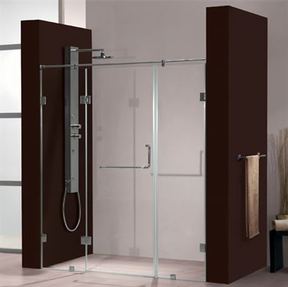 Jaquar Shower Enclosures Glass, Shower Glass Panel Cost India