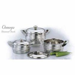 Omega Diamond Touch SS Utensils Set