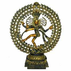 Brass Dancing Natraj
