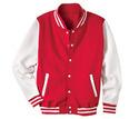 Full Fleece Varsity Jacket