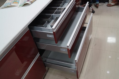 Stainless Steel Modular Racks Designer Modular Kitchens