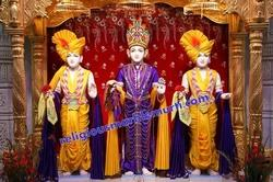 Marble God Swaminarayan Statue