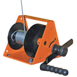 Hand Operated Wall Winch Machine