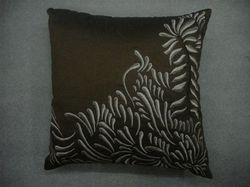 Copper Designer Cushion Cover