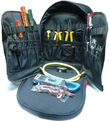 HVAC Service Tool Bag With Tools, उपकरण बैग - Infinity HVAC ... aabb4643fe