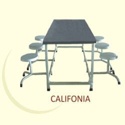 Canteen Table with Adjustable Stool