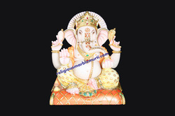 Stone Ganesh ji Marble Statue