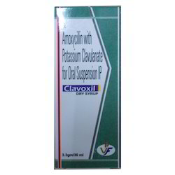 Azithromycin with clavunic acid dry syrup