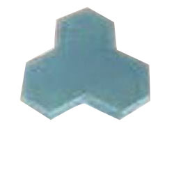 Tri-Hex Interlocking Tile Mold