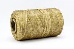 Artificial Sinew Flat Golden Thread