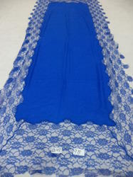 Pure Woolen 4 Side Lace Shawls