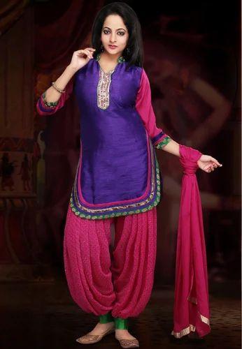 c724a187ab Designer Patiala Salwar Kameez - View Specifications & Details of ...