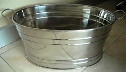 Stainless Steel Party Tub
