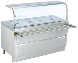 Hot Bain Marie with Tray Slide