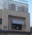 Pvc Drop Arm Awnings