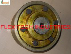 Brake Drum With Flexible Geared Couplings For Eot Cranes