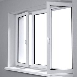 UPVC Open Window