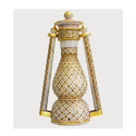 Beautiful Lamp with Goldplated Work