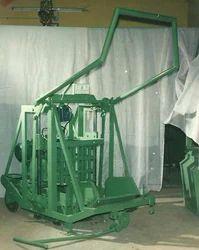 Semi Automatic Hollow Block Making Machine