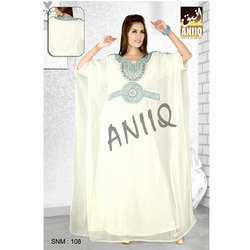 White Arabic Kaftan