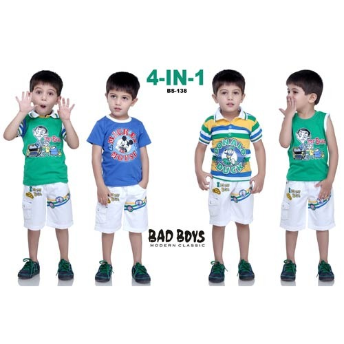 390cb04bd Bad Boys Cotton Printed Kids Baba Suit, Rs 725 /piece(s), Real ...