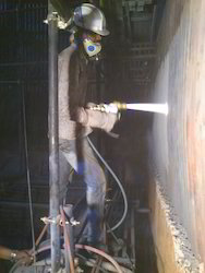 HVOF Thermal Spray Coating of Boiler coating.