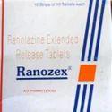 Ranolazine 100 mg (Ranozex 1000 mg)