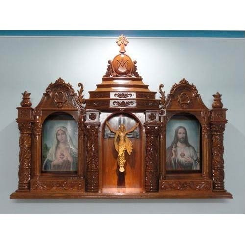 Home Altars For Sale: Manufacturer Of Wooden And Fiber Mother Mary Statues