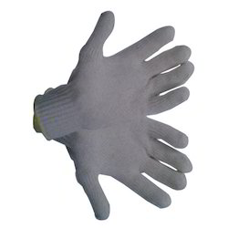 Off White Disposable Safety Hand Gloves