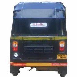 Blue Auto Rickshaw Hood
