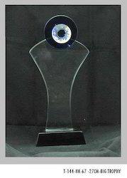 27 cm Crystal Trophies