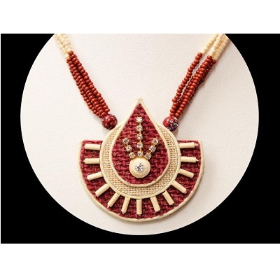 Jute Jewellery, जूट ज्वेलरी, जूट के आभूषण in Barrackpore, Kolkata , Bengal  Handicraft Traders   ID: 4228792233