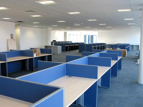 Office Interior And Exterior Designing Workstation