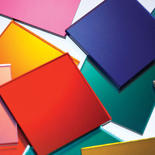 Colored Acrylic Mirror Sheets, 3-4 Mm, Rs 160 /square feet, Burhani ...