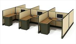 6 Seater Workstation