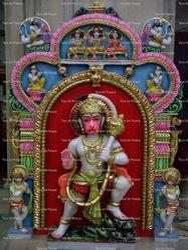 Lord Hanuman Marble Statue