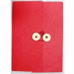 Handmade Plain Paper Files